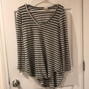 Sweaters - Freeloader striped sweater
